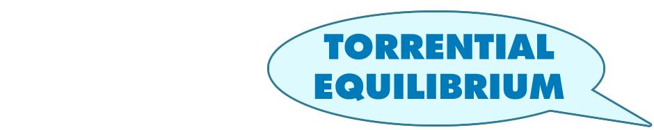 Torrential Equilibrium